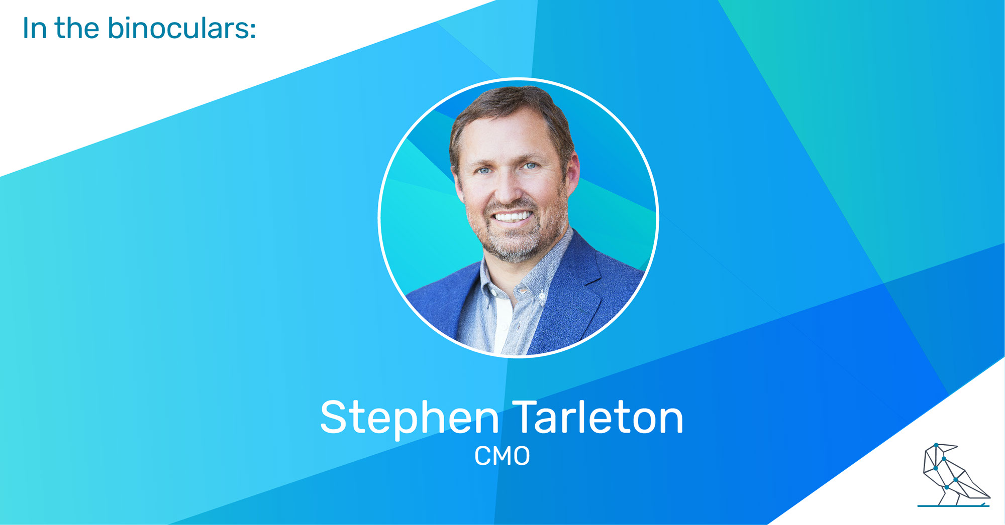 In the Binoculars: Stephen Tarleton, CMO