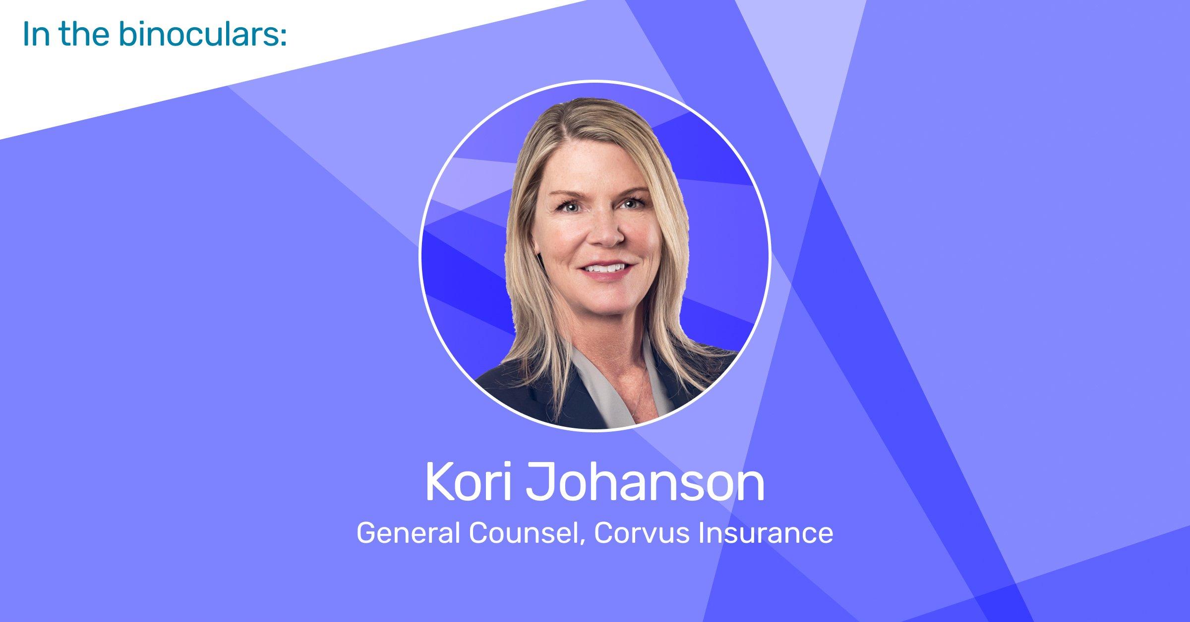 [RELATED POST] In the Binoculars: Kori Johanson, General Counsel